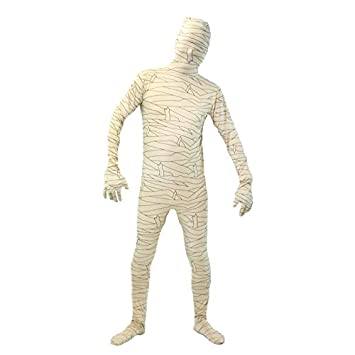Partilandia Disfraz Momia Segunda Piel Adulto Halloween (L ...