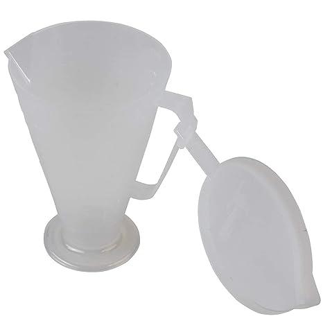 Pit Posse Ratio Rite Oil Mixer Measuring Cup W/Lid