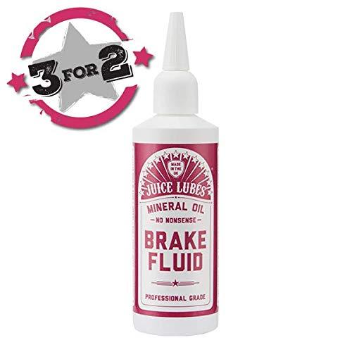 Juice Lubes, Mineral Oil, High Performance Brake Fluid, 130ml