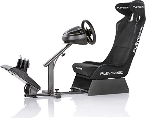 PLAYSEAT Evolution Alcantara PRO Edition Racing Video Game Chair for  Nintendo Xbox Playstation CPU Supports Logitech Thrustmaster Fanatec  Steering