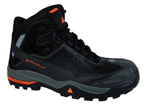 Delta Plus- Tw400 S3 Chaussures Hautes Cuir Pleine Fleur - S3 Hro Hi Ci Src T.46- Tw400s3no46