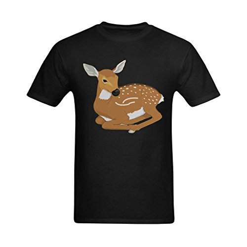 - Fashion-In Men's Deer Hunting Free Clipart Design T-Shirt - Cool T Shirts US Size XL