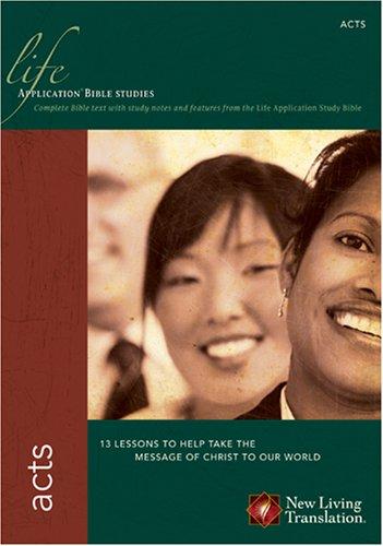 Download Acts (Life Application Bible Studies: NLT) pdf