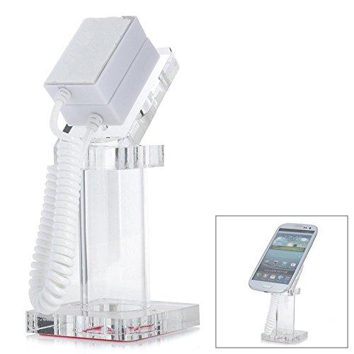 Desktop Mounts & Holders - Universal Magnetic Phone Holder Phone Display Stand Shelf - Standstill Sales Booth Ring Expose Suffer Attractable Earphone Presentation Rack Tie-Up - 1PCs (Shelf Presentation)
