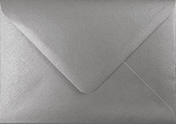 C6//A6 Premium Ivory Pearl Envelopes by Mad as a Crafter