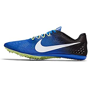 Nike Men's Zoom Victory 3 Track and Field Shoes(Blue/Black, 13 D(M) US)