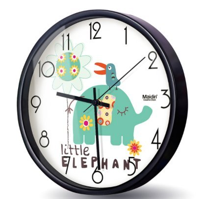 silent-10-elephant-wall-clocks-for-kids-room-animal-themes-stainless-steel-child-animal-wall-clock-b