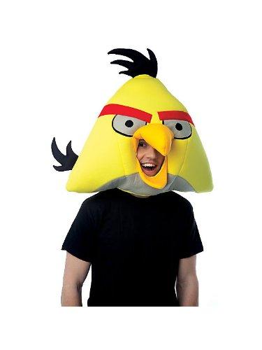 [Angry Birds Adult Halloween Mask, Yellow] (Bird Halloween)
