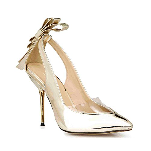 Dress Stilettos Pointy Bow Heeled Sandals Lady MULTI COLORS Prom Wedding Party Club Pumps Shoes Prime
