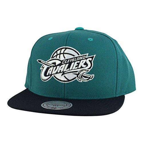 Cleveland Cavaliers NBA Mitchell & Ness Gem Green Snapback Hat - Green