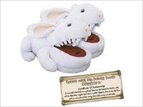 Toy Vault MP043 Monty Python Rabbit Plush Slippers