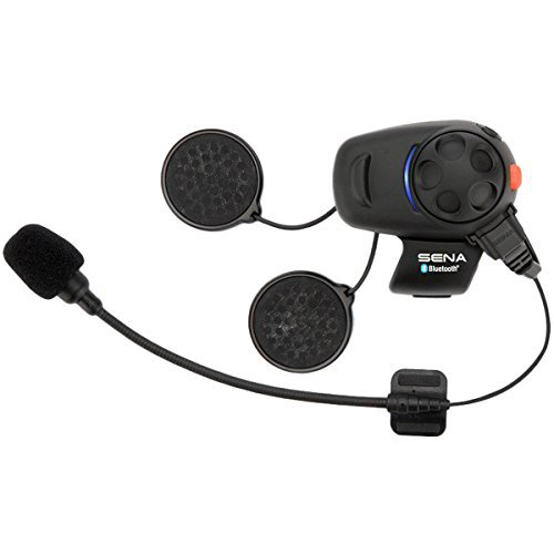 Sena SMH5D-01 Low-Profile Motorcycle and Scooter Bluetooth Headset / Intercom (Dual) by Sena