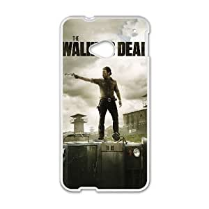 HTC One M7 Cell Phone Case White The Walking Dead VIU147564