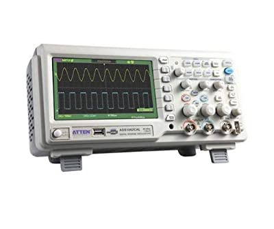 "Atten ADS1062CAL 60Mhz Digital Storage Oscilloscope 7"" Wide Screen LCD"