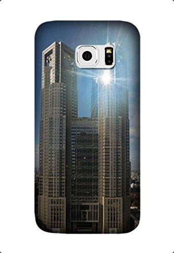 Ultra Thin Color TPU Skyscraper Soft Cover For Samsung Galaxy S6 Edge Design By [Laura Jordan]