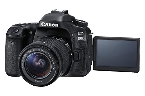 Canon-EOS-80D-Digital-SLR-Camera-18-55mm-STM-Canon-75-300mm-III-Lens-SD-Card-Reader-64gb-SDXC-Remote-Complete-Cleaning-Kit-Accessory-Bundle-New-International-Version