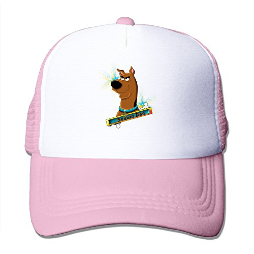 Scoobydoo Velma Adult Costumes (ACMIRAN Scooby Doo Funny Hat One Size Pink)