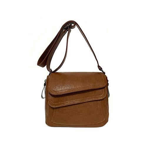 8 Colors Leather Luxury Handbags Women Bags Designer Women Messenger Bags Summer Bag Woman Bags,Brown