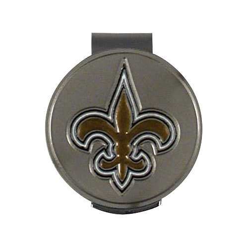 - Wincraft NFL New Orleans Saints A01375 Clamshell Hat Clip with 2 Markers
