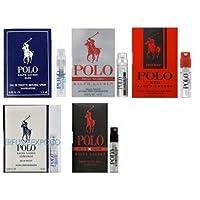 Men's Polo Perfume Samples Set of 5