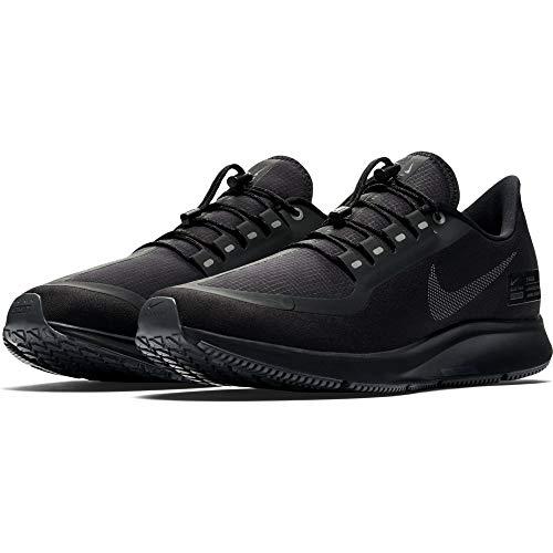 NIKE Air Zoom Pegasus 35 Shield Men's Running Shoe Black/Anthracite-Anthracite-Dark Grey 11.0