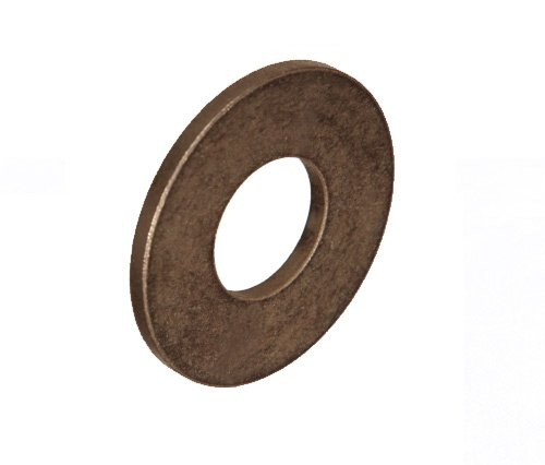 Thrust Washer 1 (Isostatics 102429-5 TT-1303-1 SAE841 Oilube Powdered Metal Bronze Thrust Washers, 0.75