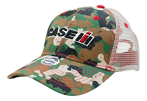 Case IH Youth Tractor Camo Mesh Back Cap - Officially ()