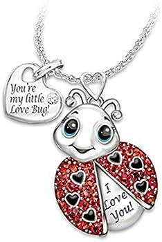 Kouye Rhinestone Alloy Cartoon Animal Combination Unisex Pendant Necklace
