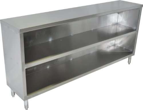"John Boos EDSC8-1560 Stainless Steel Economy Dish Storage Cabinet, 60"" Length x 15"" Width"