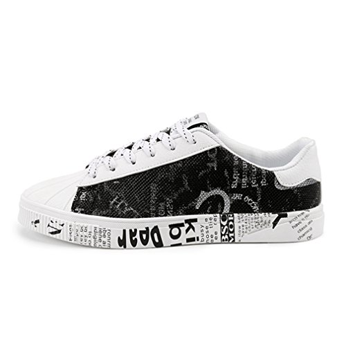 Randonée Antidérapant Lacets Mode Basse blanc Waterproof Jogging Homme Multisports noir Chaussure Basket Sneakers Outdoor 46 39 Skateboard de HPwvfvxqz