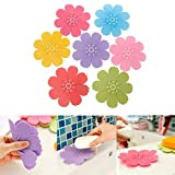 Autumn Water Silicone Shower Soap Box Dish Bathroom Storage Plate Tray Holder Case Container July