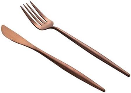Compra Shengtangb Cubiertos Tenedores Cuchara Tenedor Tenedores Acero Inoxidable Cucharas Caja De Material Base Creativa con Horquilla De Fruta De Acero Inoxidable en Amazon.es
