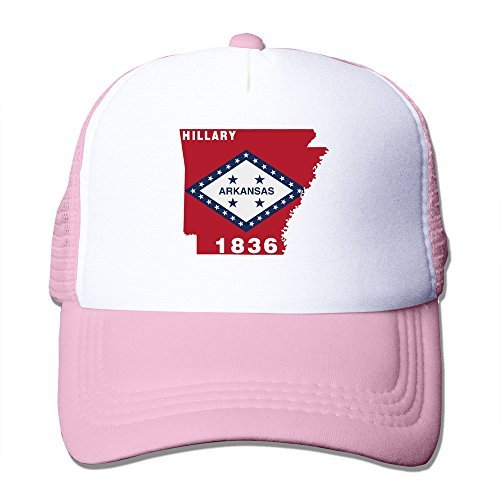 Cool Arkansas State I'm With Her Adult Mesh Trucker Hat Cap One Size Pink ()