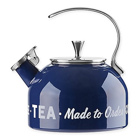 kate spade new york All in Good Taste 2.5 qt. Tea Kettle in Blue