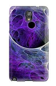Jim Shaw Graff's Shop Best Anti-scratch And Shatterproof Fractal Phone Case For Galaxy Note 3/ High Quality Tpu Case