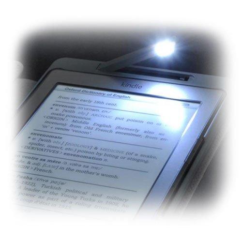 Funda de Piel Sintética con Luz Led para Kindle 4: Amazon.es ...