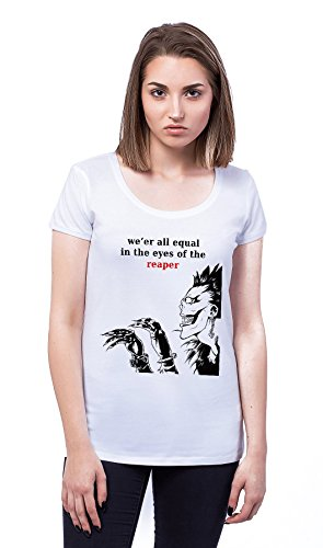We' er All Equal In The Eyes Of The Reaper Damen T-shirt
