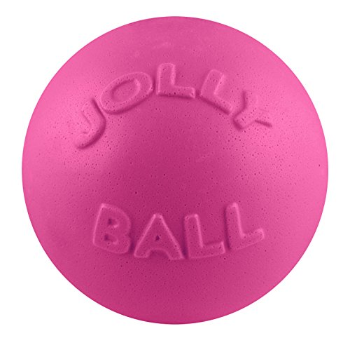 (Jolly Pets 8-inch Bounce-n-Play, Pink)