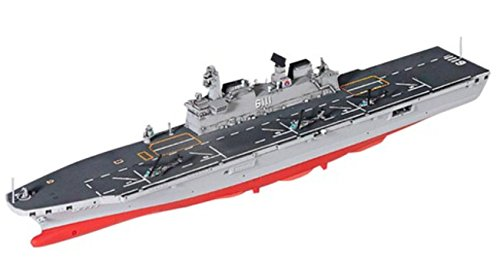 Academy Dokdo Amphibious Assault Ship LPH-6111 with Surion Plastic Model UH-60 , Super Lynx Helicopter,Hobby Model Kit Republic of Korea Navy 1/700 MCP(Multi Color Parts)