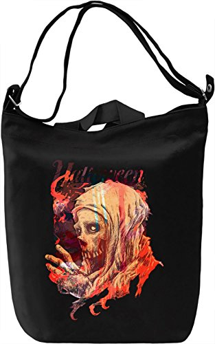 Halloween Borsa Giornaliera Canvas Canvas Day Bag| 100% Premium Cotton Canvas| DTG Printing|