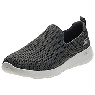 Skechers mens Go Walk Max-Athletic Air Mesh Slip on Walking Shoe,Charcoal,13 M US