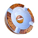 Best Cigar Ashtrays - SIKARX Cigar Ashtray - Tray Design for Outdoor Review