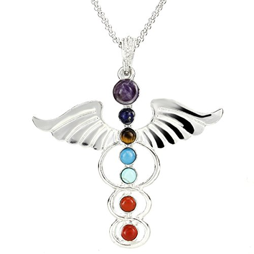 stainless steel angel pendent - 2