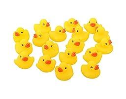 Kangaroo\'s - Rubber Duck Baby Bath Toy (18-Pack)