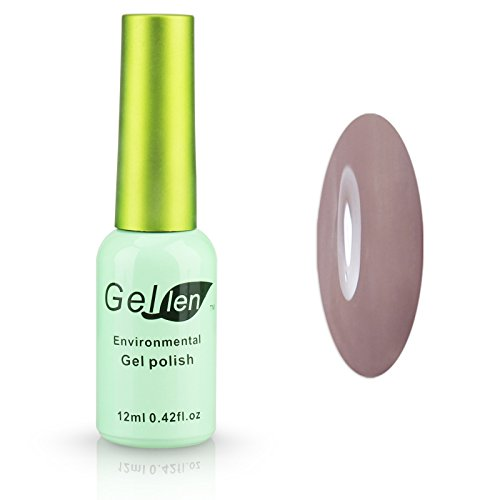 Gellen Nail Polish Gel Colors Gel Nail Lacquer 1pc 12ml Gree