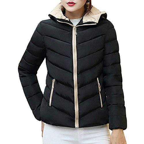 Womens Coats Winter Clearance Liraly Fashion Winter Warm Coat Thick Warm Slim Jacket Overcoat(Black,US-10 /CN-XL) by Liraly
