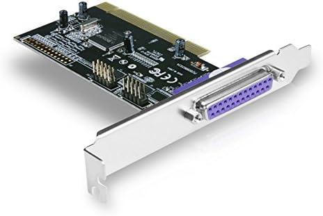 Black Vantec 2+1 Serial and Parallel PCI Host Card