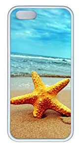 Beach Starfish 2 pc White best iphone 5 cases for Apple iPhone 5/5S