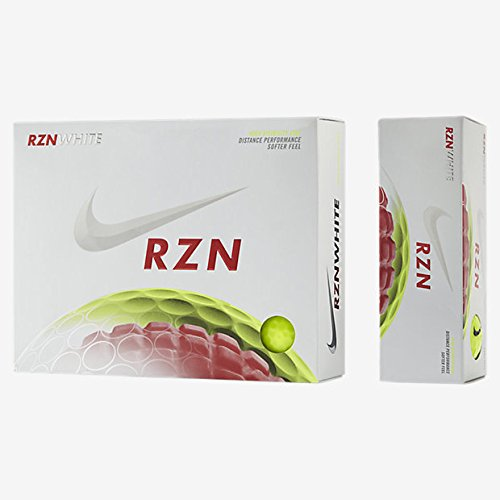 Nike Golf GL0680-701 RZN White Volt Ball