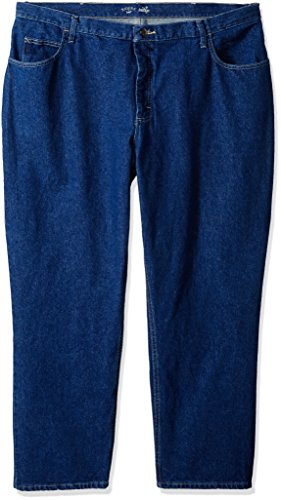 Riders by Lee Indigo Women's Petite Plus Relaxed Fit 5 Pocket Jean, Indigo Denim, 20P